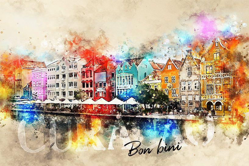 Bon bini Curacao! van Sharon Harthoorn