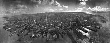 San Francisco, 1906 van Atelier Liesjes