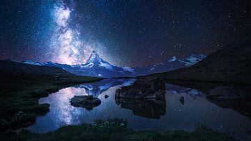 Matterhorn bei Nacht sur Severin Pomsel