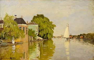 Häuser auf dem Achterzaan, Claude Monet