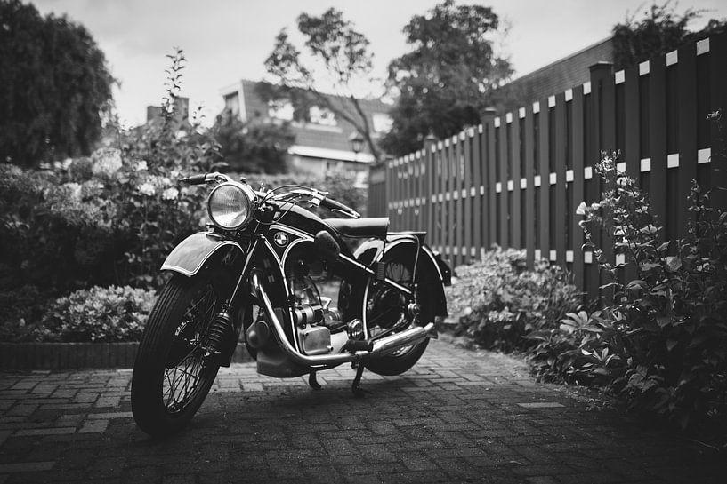 BMW oldtimer motorfiets van Mijke Bressers