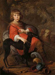Portret van Martinus Alewijn, Dirck Dircksz. van Santvoort