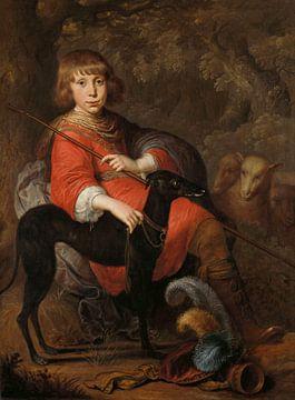 Portret van Martinus Alewijn, Dirck Dircksz. van Santvoort sur