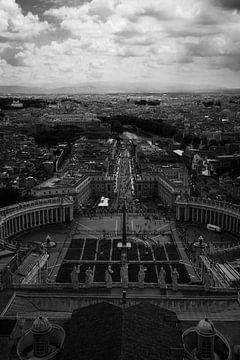 Vatikan Ansicht von Rom von Ben Hoedt