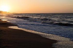Zonsondergang Noordzee - Sunset North Sea