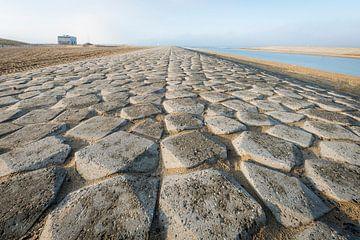 Stenenwoestijn in Katwijk