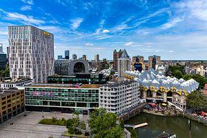 Zicht op de oude haven Rotterdam