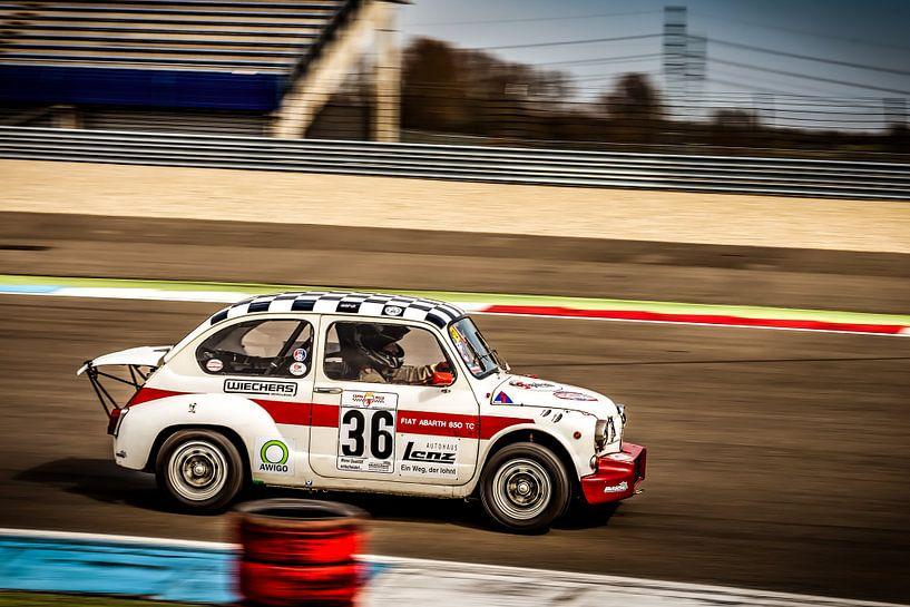 Fiat Abarth 850TC van autofotografie nederland