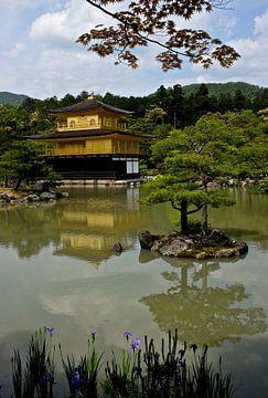 'Kinkaku-ji', Kyoto- Japan van Martine Joanne
