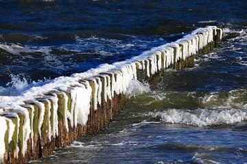 Ostsee mit Eis von Thomas Jäger