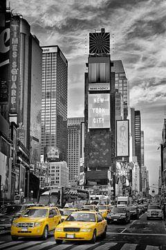 NEW YORK CITY Times Square | Colorkey von Melanie Viola