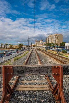 Einde van de spoorweg van Fred Leeflang