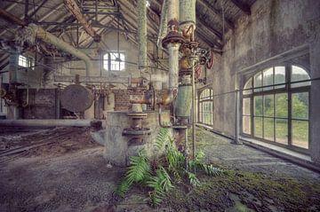 Urbex - Fabriekshal van