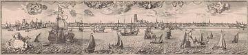Ansicht von Rotterdam, Joost van Geel