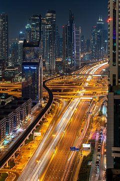 Skyline Dubai von Jeroen Kleiberg