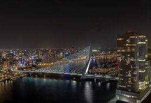 Rotterdam - Skyline - Erasmusbrug van