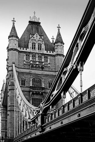 London ... Tower Bridge III van Meleah Fotografie