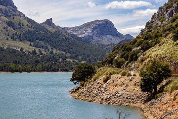 Stausee Gorg Blau auf der Insel Mallorca von Reiner Conrad