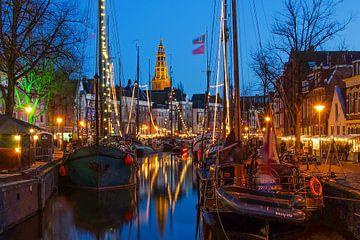 Hoge der A in Groningen from the Vissersbrug sur Annie Jakobs