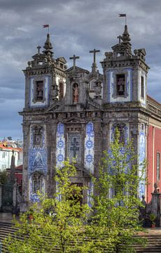 Igreja Santo Idelfonso, Porto, district Porto, Portugal, Europa van Torsten Krüger
