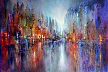 city on the riverside