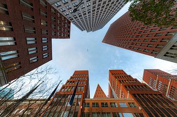 Luchtfoto van Den Haag van Digikhmer