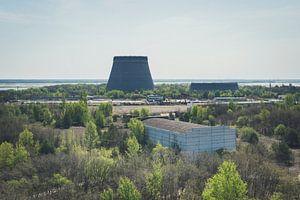 Koeltorens in Tsjernobyl