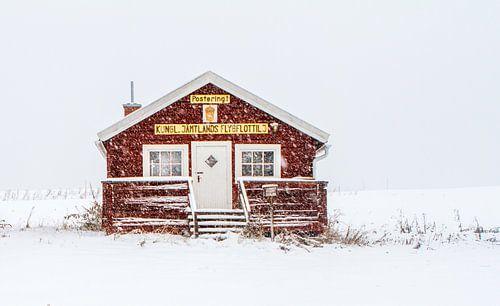 Winter in Zweden.