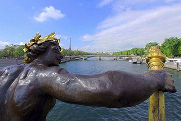 Pont Alexandre III Parijs van Patrick Lohmüller