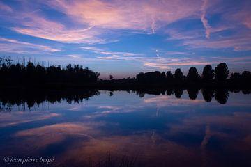 wolken in het water van Jean Pierre Bergé