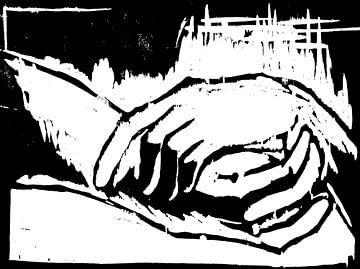 Ruhende Hände van Eberhard Schmidt-Dranske