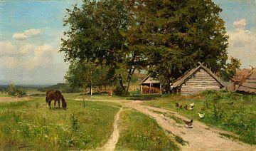 Ländliche Landschaft, Nikolay A. Klodt