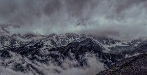 Boven op de Gletsjer