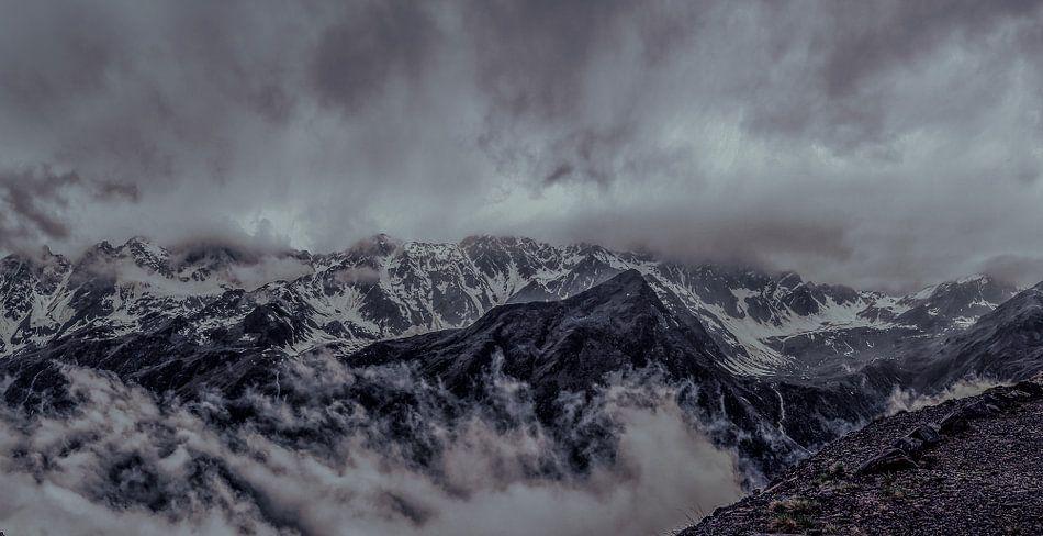 Boven op de Gletsjer  van Mario Calma