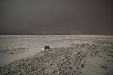 Avonturen in de poolnacht met sneeuwstorm van Kai Müller