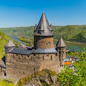 Stahleck Castle, Bacharach on the Rhine van Walter G. Allgöwer