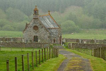 Kerkje in Schotland van René Groenendijk