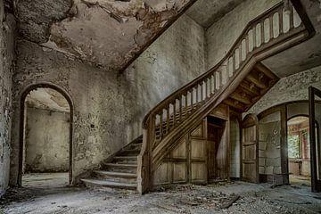 Treppenhaus (urbex) von Jaco Verheul