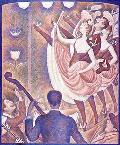 Georges Seurat. Le Chahut