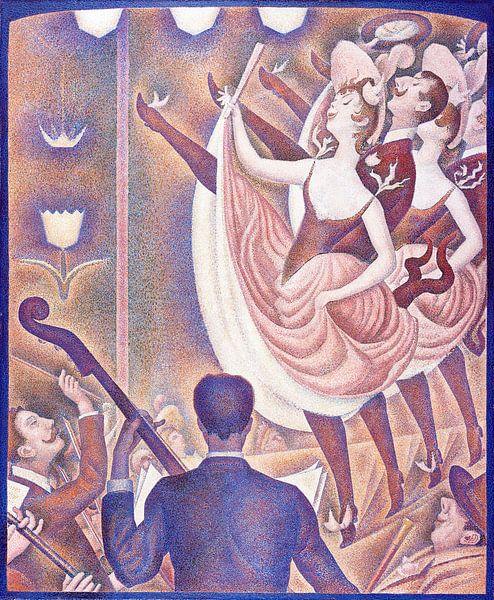 Le Chahut - Georges Seurat von 1000 Schilderijen