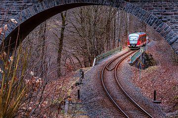 Erzgebirge Spoorweg van Johnny Flash