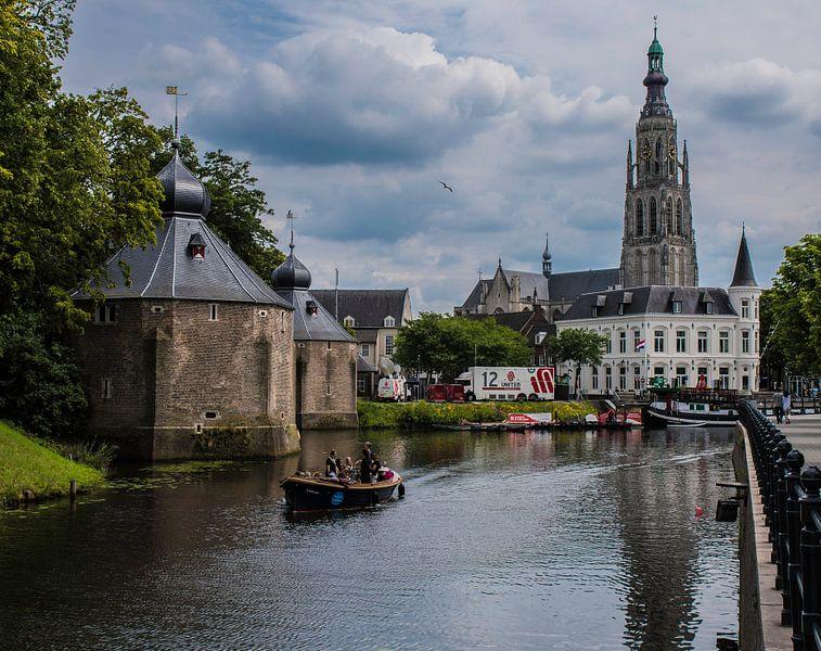Breda havenbeeld van Freddie de Roeck