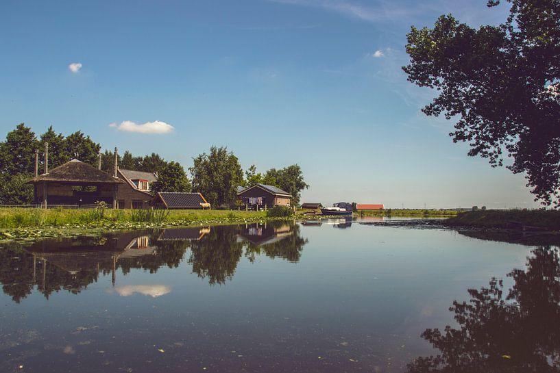 Landschapsfoto Nederland van Jeanine Verbraak