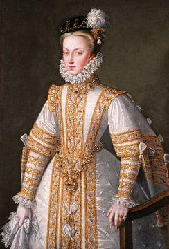 Anna von Österreich, Königin von Spanien, Alonso Sánchez Coello