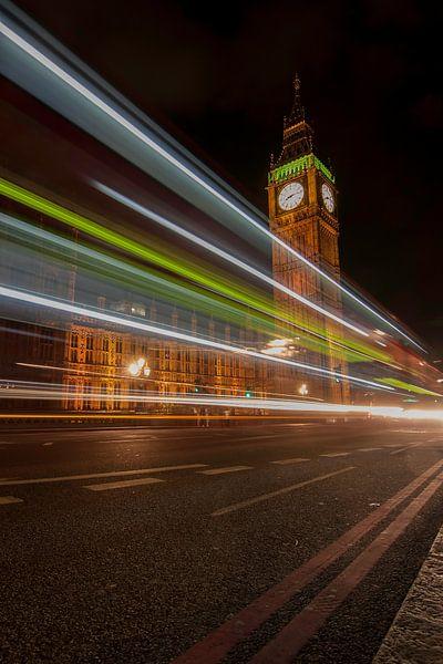 Londen Big Ben van Bert Meijer