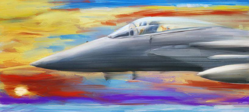 Vitesse de Jetfighter sur Jan Brons