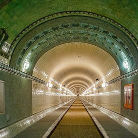 le vieux tunnel de l'Elbe sur Joachim Fischer