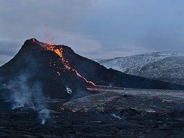 Vulkanausbruch am Fagradalsfjall von Timon Schneider