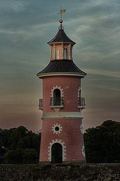 Moritzburg  - vuurtoren van