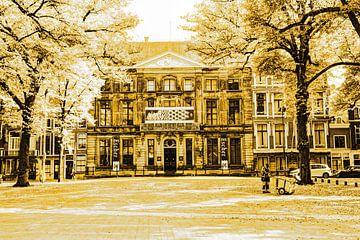 Lange Voorhout Palace Escher in het Paleis Den Haag Niederlande Gold von Hendrik-Jan Kornelis